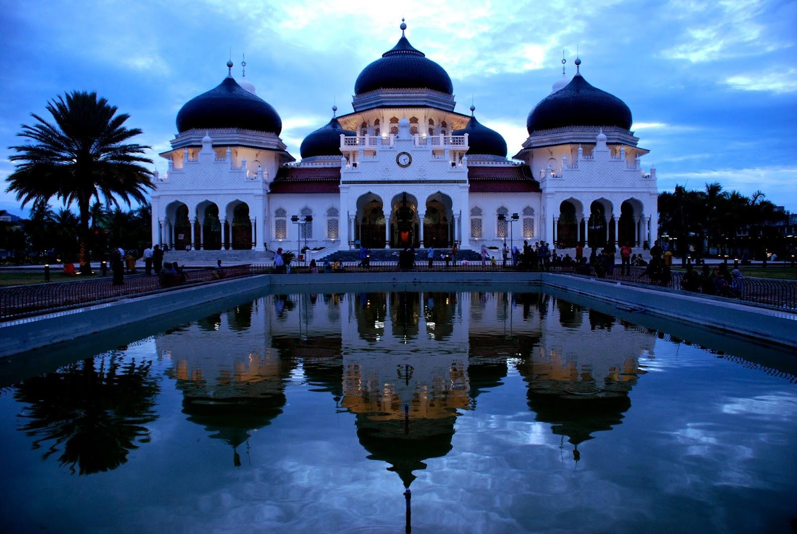 Palacio Mesjid (Masjid) Raya Baiturrahman