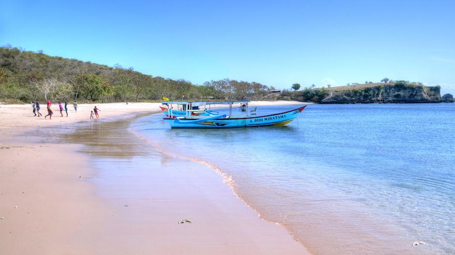 la playa de Bawang Merah