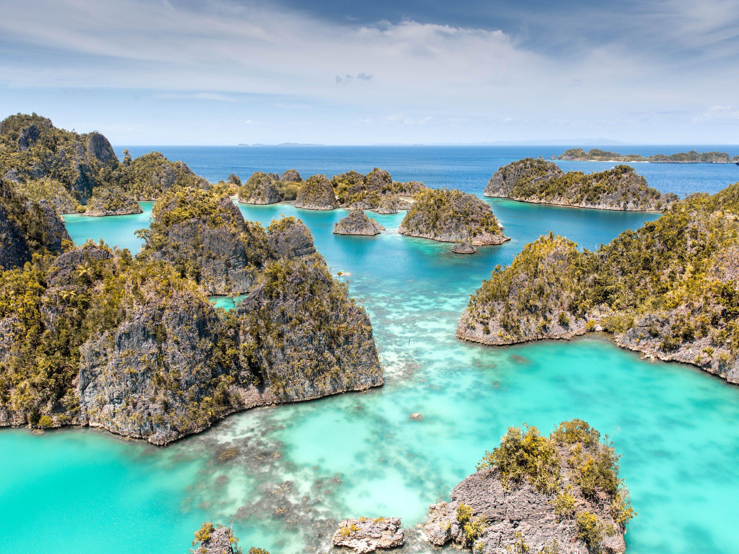 Islas en Raja Ampat