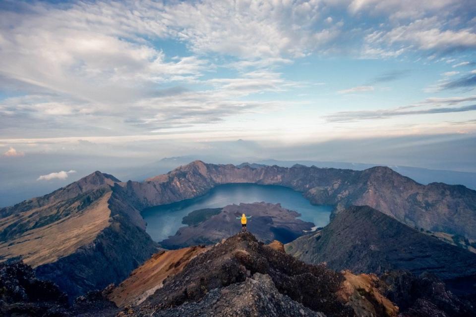 trekking en Monte Rinjani