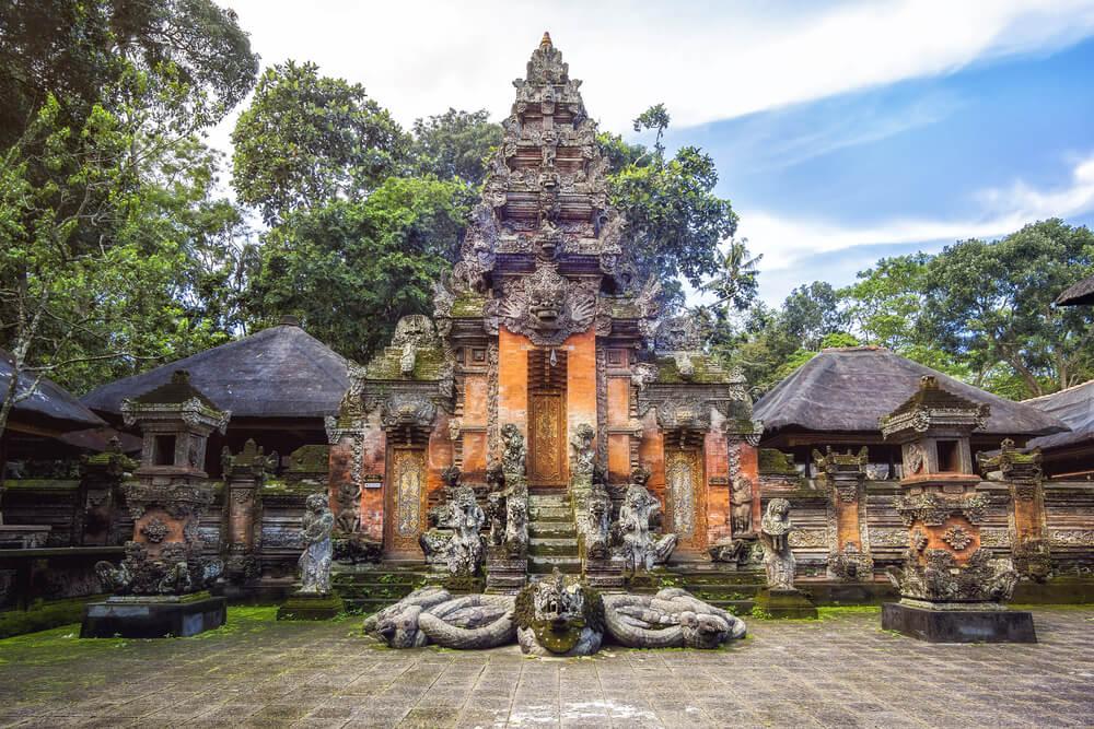 Santuario en el Bosque de los Monos