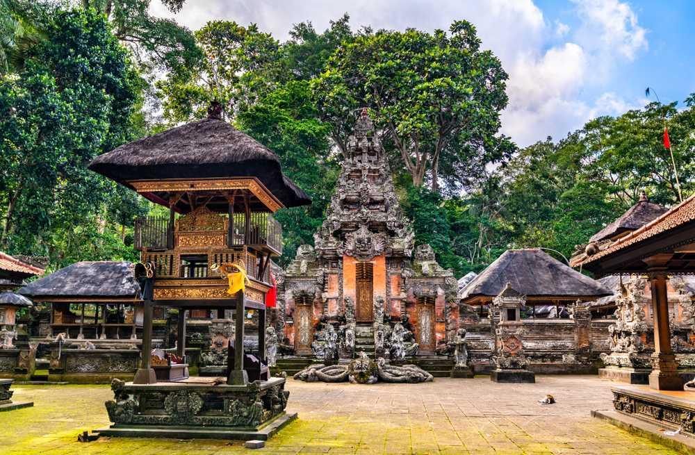Imagen del Templo Pura Dalem Taman