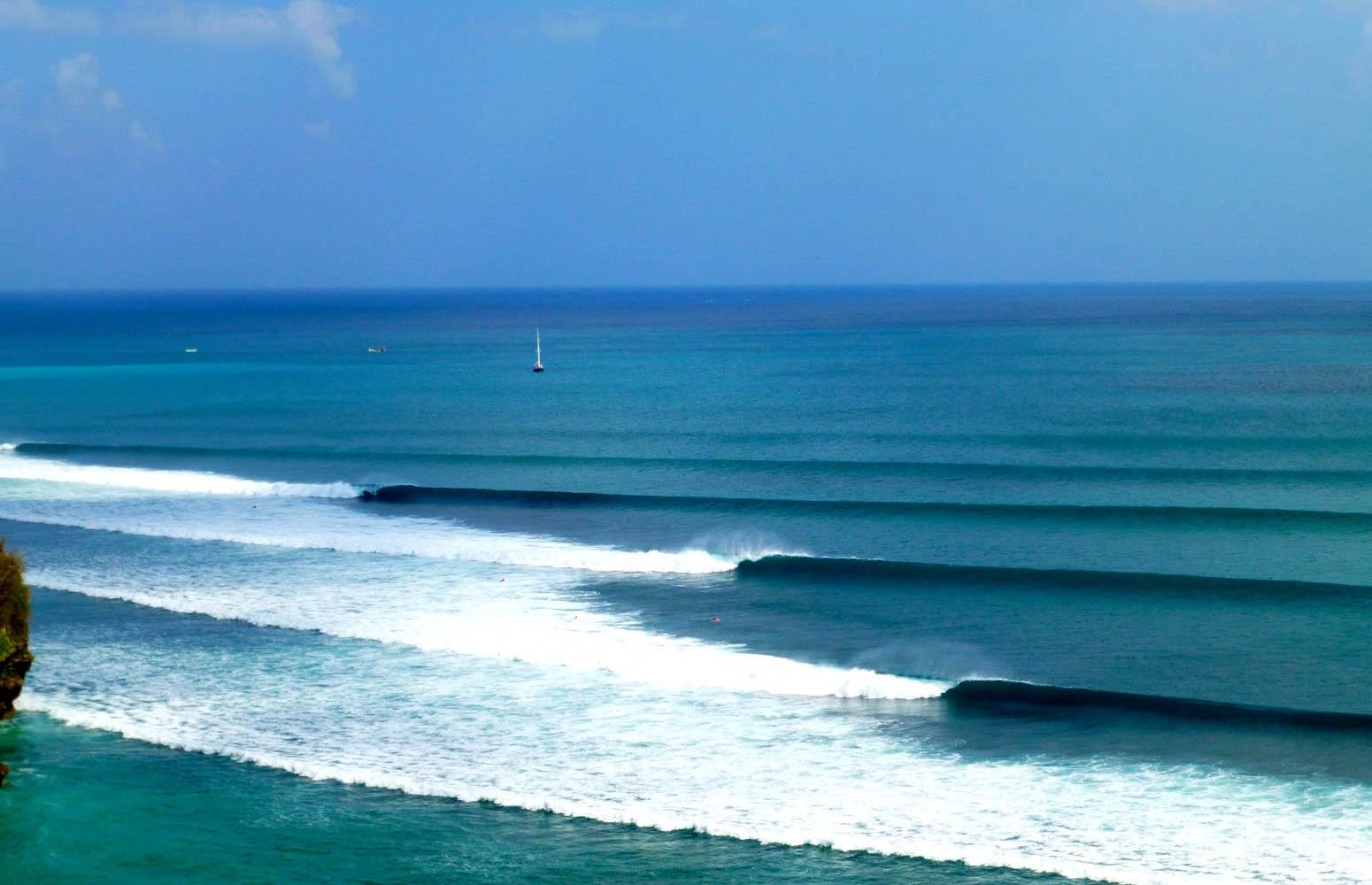 body board en Playas de Bali
