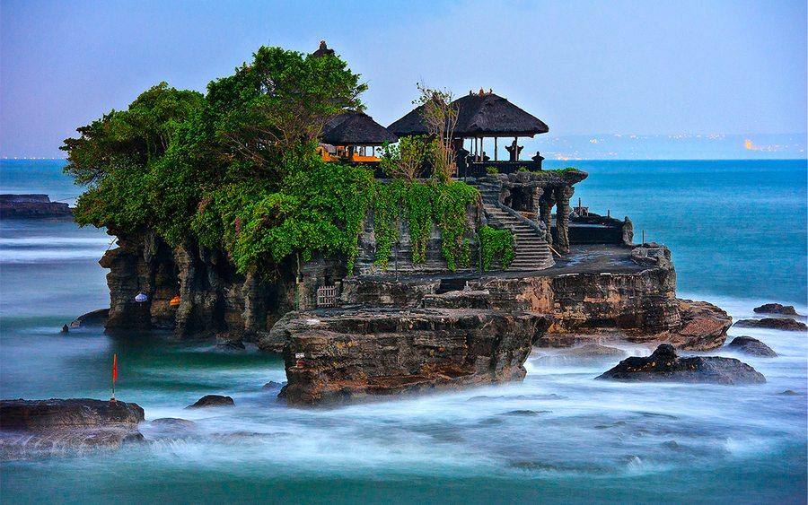 Imagen del Templo Pura Tanah lot