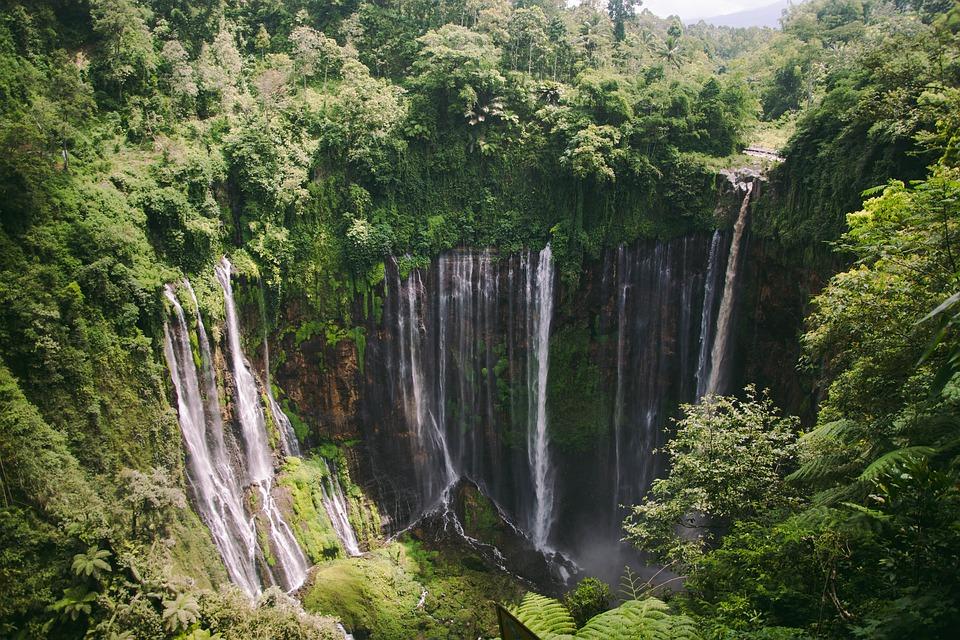 cascadas cerca de Malang